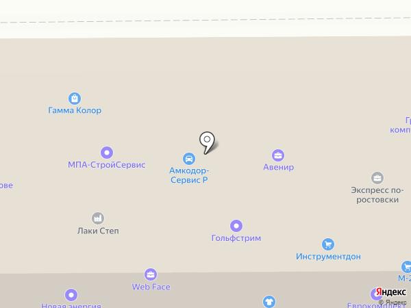 Ростов-Тара на карте Ростова-на-Дону