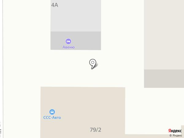 Авеню Стиль на карте Ростова-на-Дону