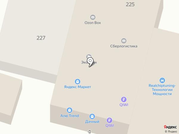 Оливье на карте Ростова-на-Дону