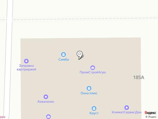 АВТОБАНК24 на карте Ростова-на-Дону