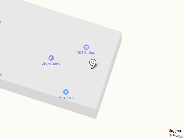 УНКОМТЕХ на карте Ростова-на-Дону