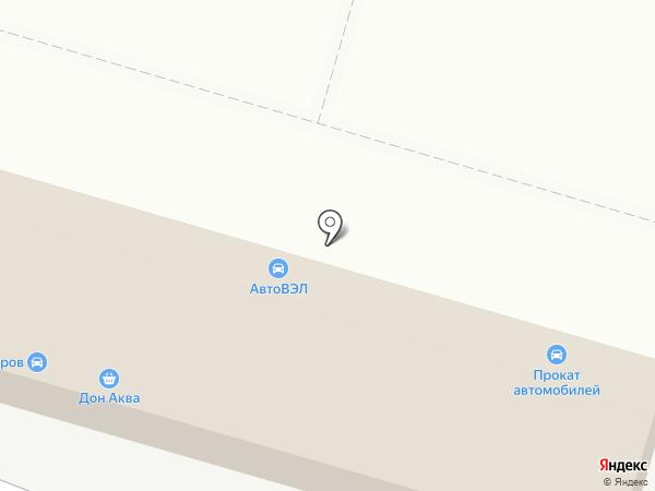 Варакса на карте Ростова-на-Дону