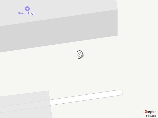 Липринт на карте Липецка