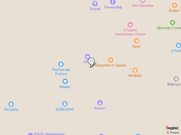 Птичий двор на карте Ростова-на-Дону