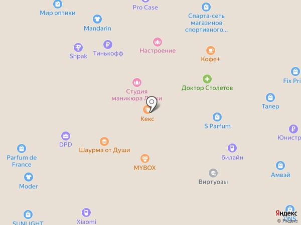 007 time на карте Ростова-на-Дону