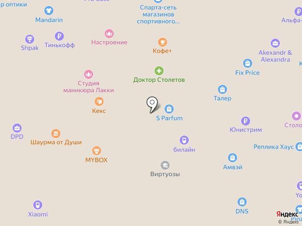 Настроение на карте Ростова-на-Дону