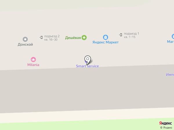 Cash Point на карте Ростова-на-Дону