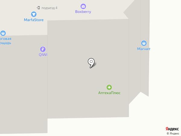 Кнопка на карте Ростова-на-Дону