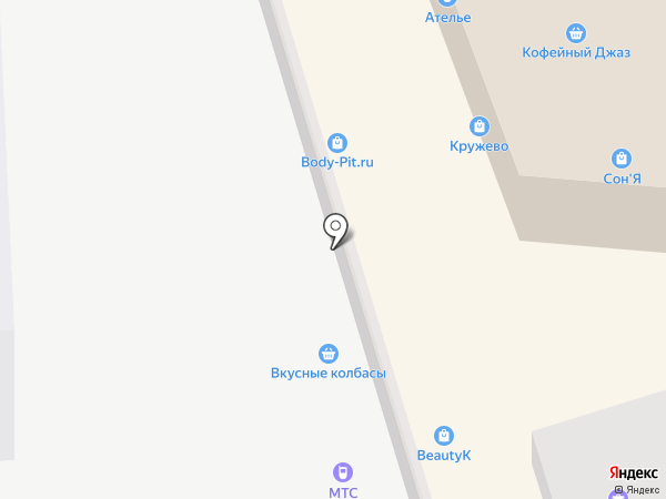 GO-bijouterie на карте Ростова-на-Дону