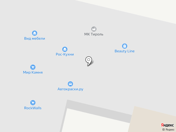 Феникс Стоун на карте Ростова-на-Дону