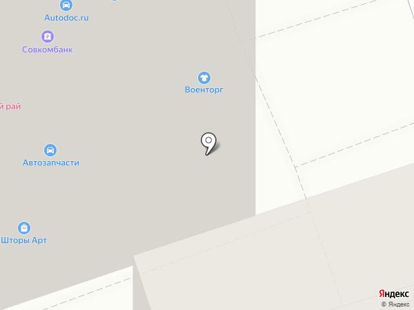 Автодок на карте Ростова-на-Дону