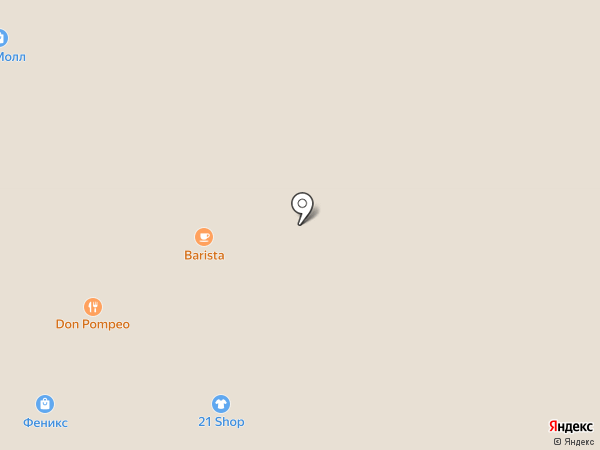Лампа на карте Рязани