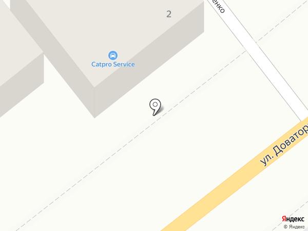 Автомаркет на карте Ростова-на-Дону