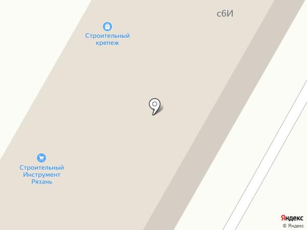 Магазин сантехники на карте Рязани