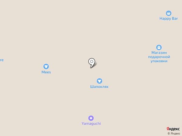 Оренбургский пуховой платок на карте Рязани
