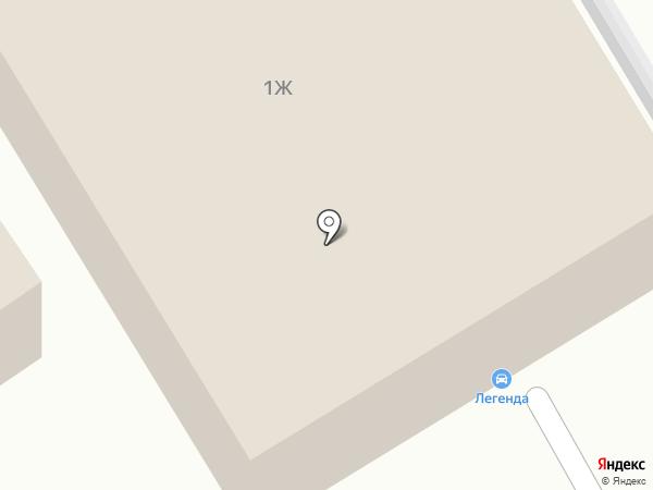 Рязань на карте Рязани