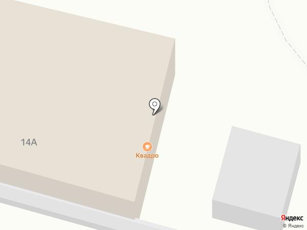 Квадро на карте Рязани