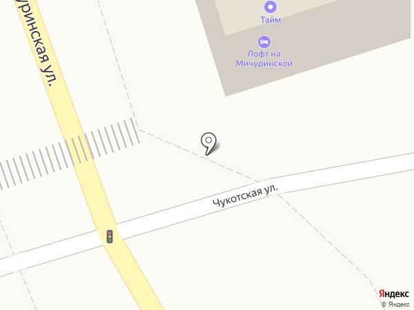 Тайм на карте Ростова-на-Дону
