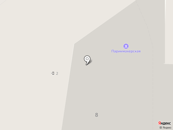 Парикмахерская на карте Рязани