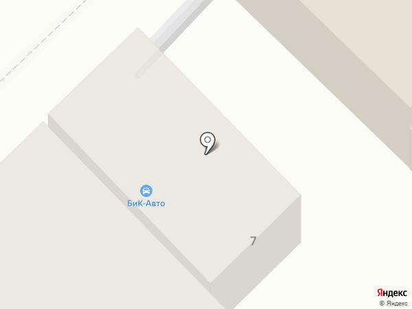 Бик-Авто на карте Ростова-на-Дону