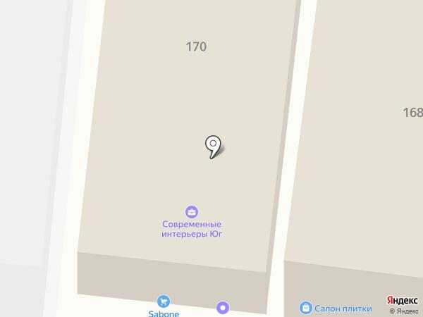 ЭТМ на карте Ростова-на-Дону