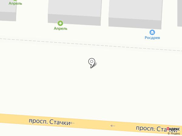 Дом Плитки на карте Ростова-на-Дону