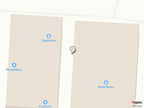 Азбука стиля на карте Ростова-на-Дону
