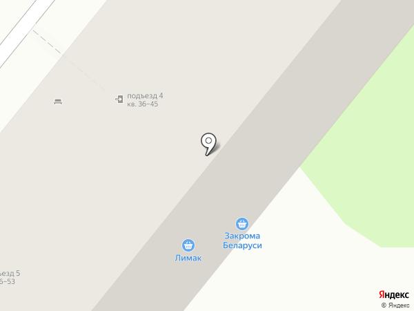 На районе на карте Липецка
