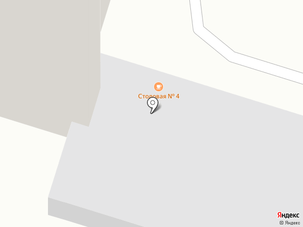 Студенческая столовая №4 на карте Рязани