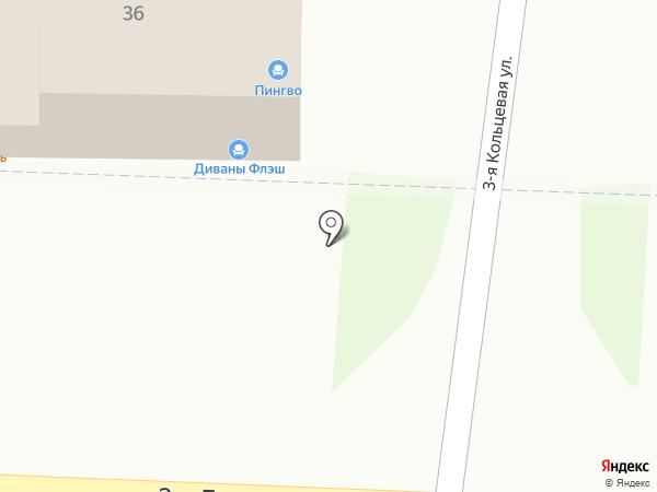 Оливка на карте Ростова-на-Дону