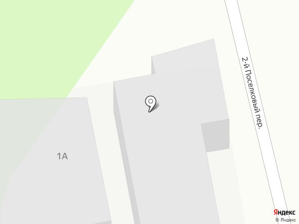 Займак на карте Ростова-на-Дону