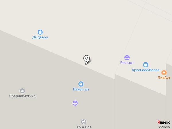 Тринити-Н на карте Рязани