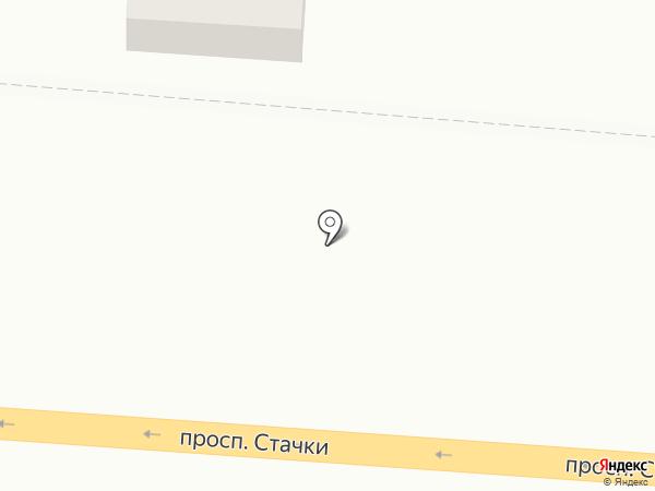 Мир, FM 90.6 на карте Ростова-на-Дону