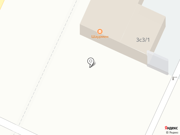 Шаурмен на карте Рязани