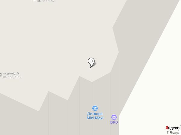 Вишнёвые сады на карте Рязани