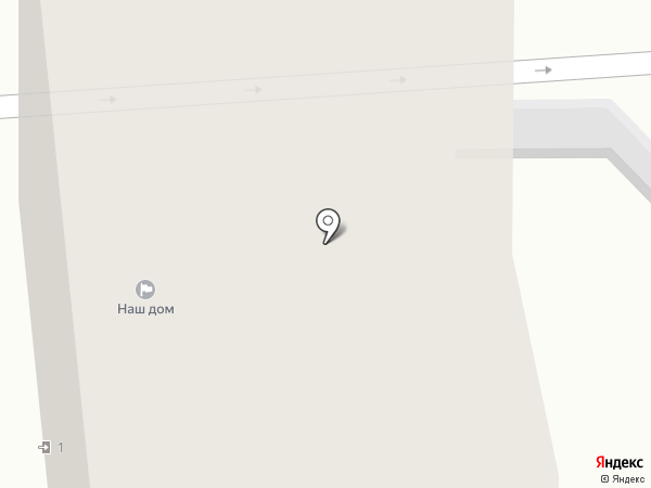 Наш дом, ТСЖ на карте Рязани