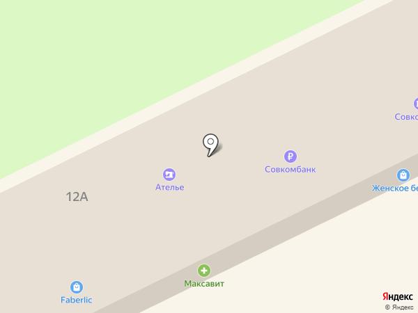 Лавка меда на карте Липецка