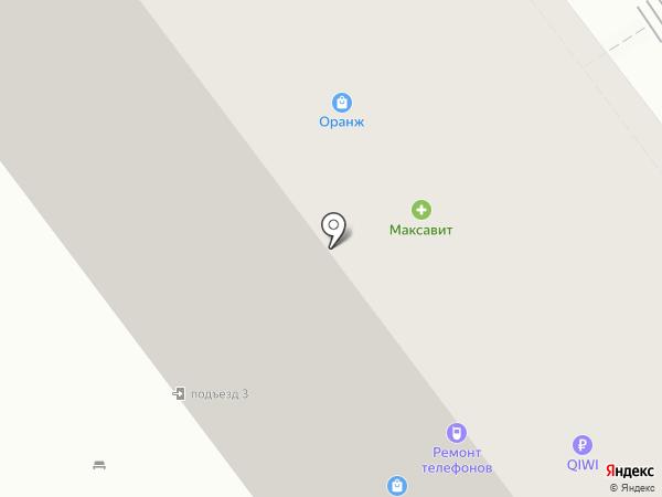 Максавит на карте Рязани