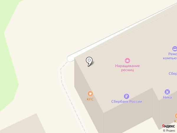 Сито-рю на карте Липецка