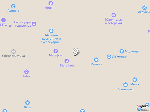 Супермен на карте Липецка
