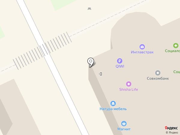 Магазин фейерверков на карте Липецка