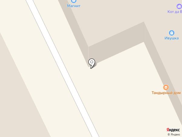 Магазин нижнего белья на карте Липецка