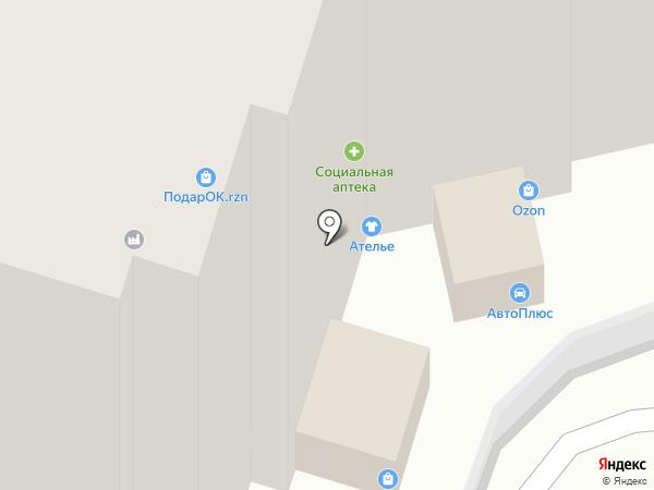 Магазин по продаже мебели на карте Рязани