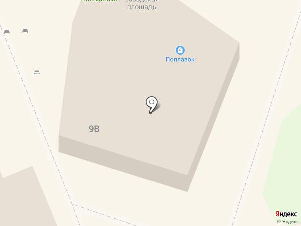Поплавок на карте Липецка