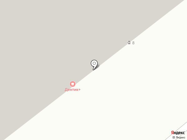 Дентика на карте Рязани