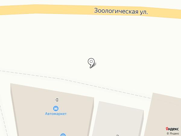 Магазин автомасел на карте Ростова-на-Дону