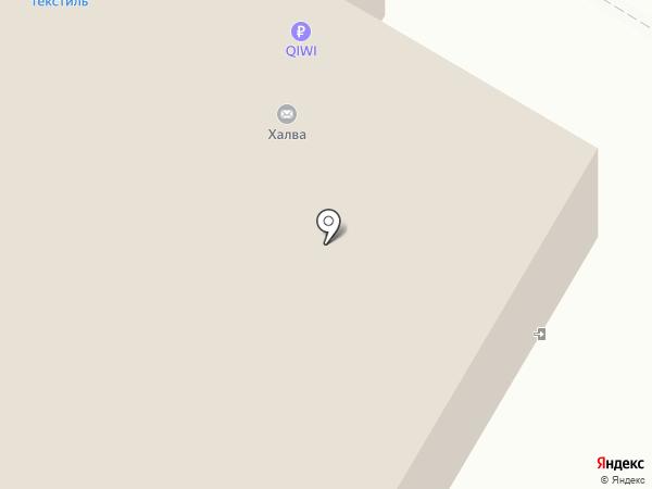 Народный на карте Рязани