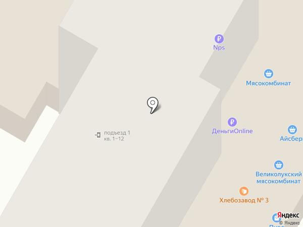 Куриный дом на карте Рязани