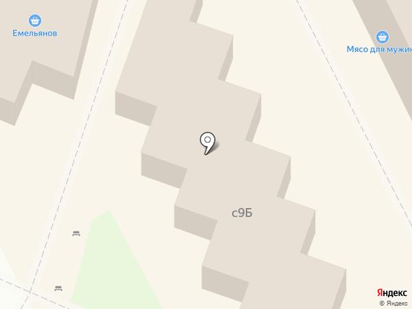 Мясной магазин на Заводской площади на карте Липецка