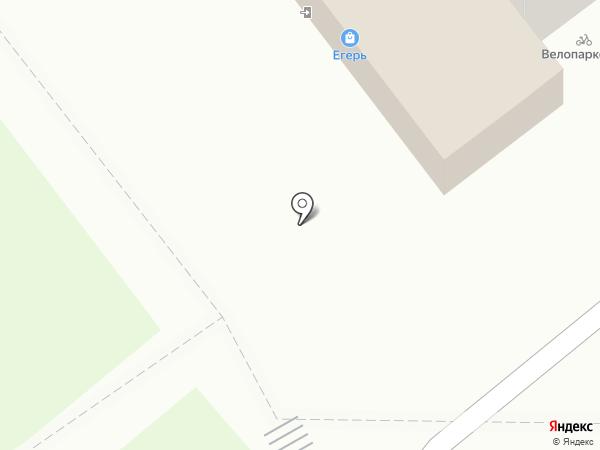 Егерь на карте Рязани